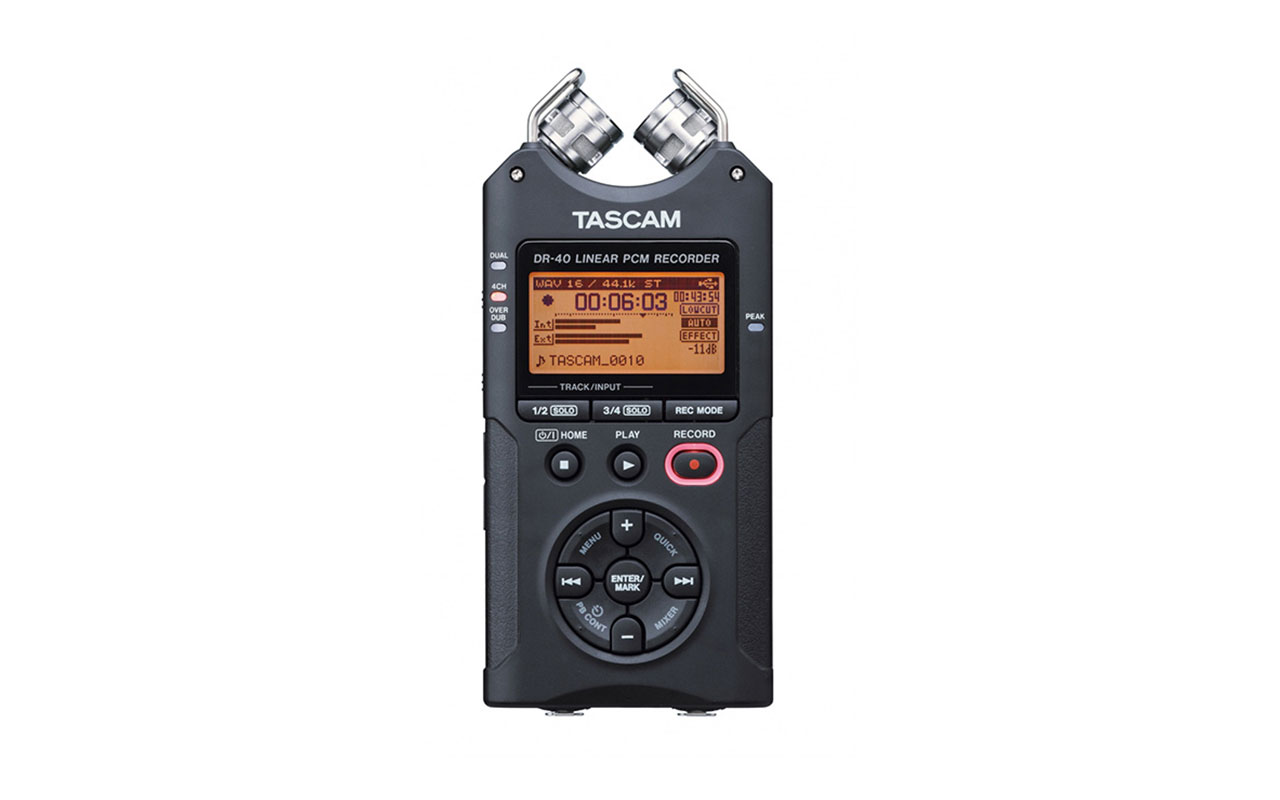 Tascam DR40 Linear PCM Recorders