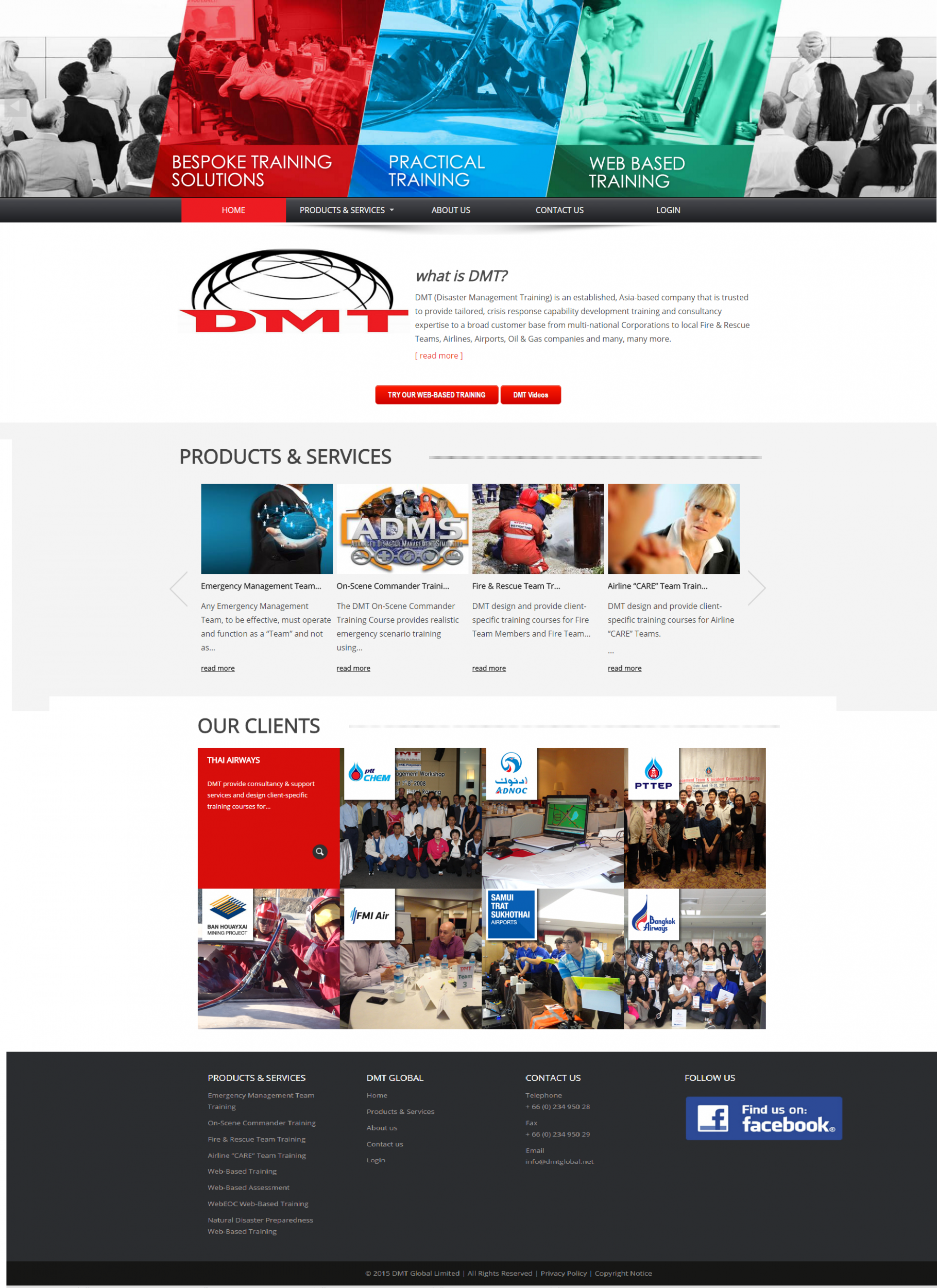Clipcube Media DMT Global website development