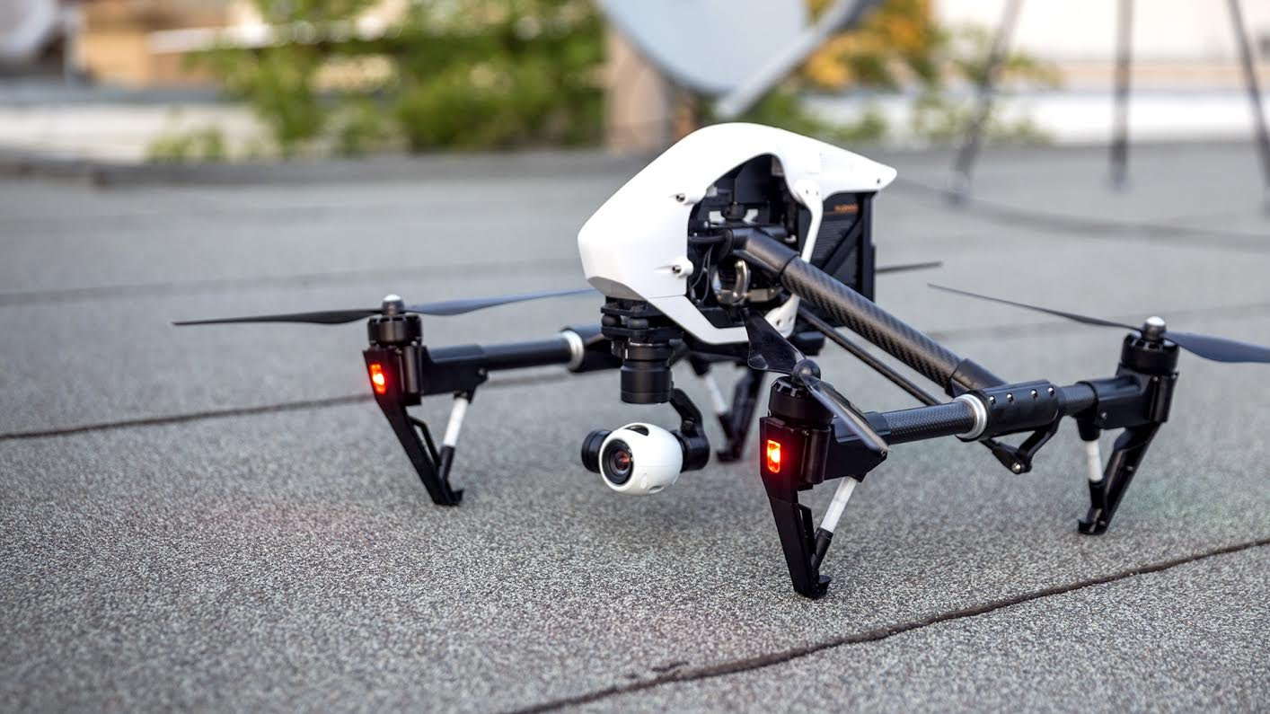 Inspire 1 drone stationary